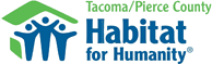 Tacoma/Pierce County Habitat for Humanity logo